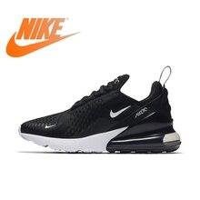 Оригинальный Nike Оригинальные кроссовки AIR MAX 270 Для женщин Беговая Спортивная обувь Открытый кроссовки хорошее качество удобные низкие AH6789-700