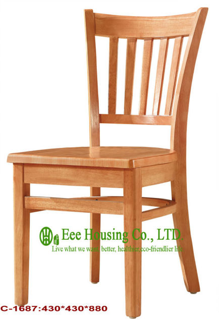 c 1687 luxurious solid dining chairsolid wood dinning table furniture with chairs - Wooden Dining Chairs