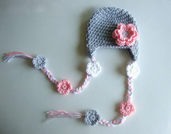 bbcb9625413 100% Cotton Crochet Baby Hat