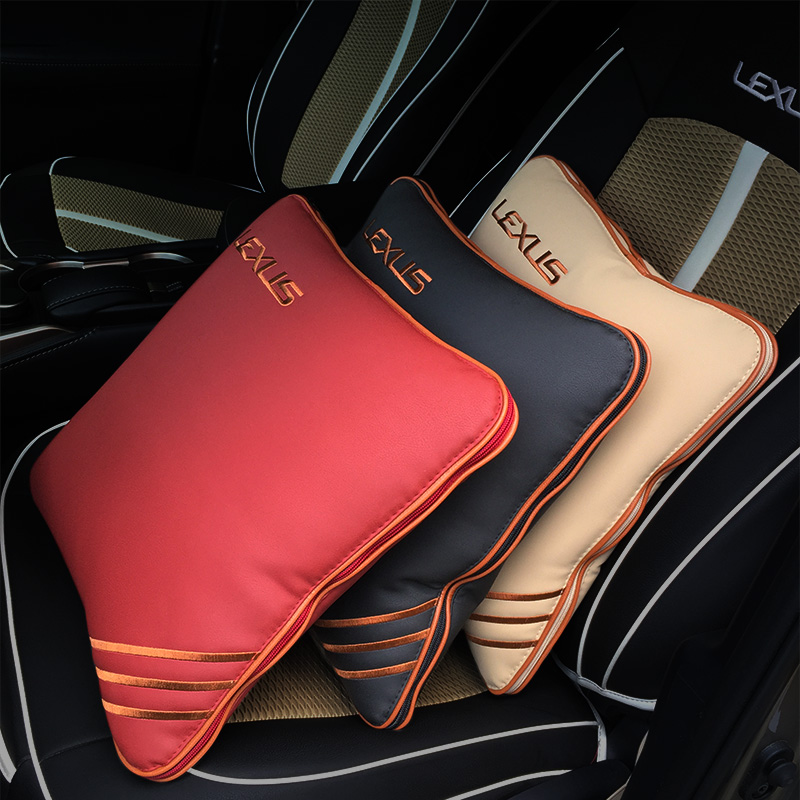 free shipping car Pillow quilt for lexus nx200t nx300h rx200t rx350 rx450h es200 es250 es300h is200t ct200h es350h lx570 gx460 for lexus es is gs gx ls ct lx rx rc nx new brand luxury soft pu leather car seat cover front