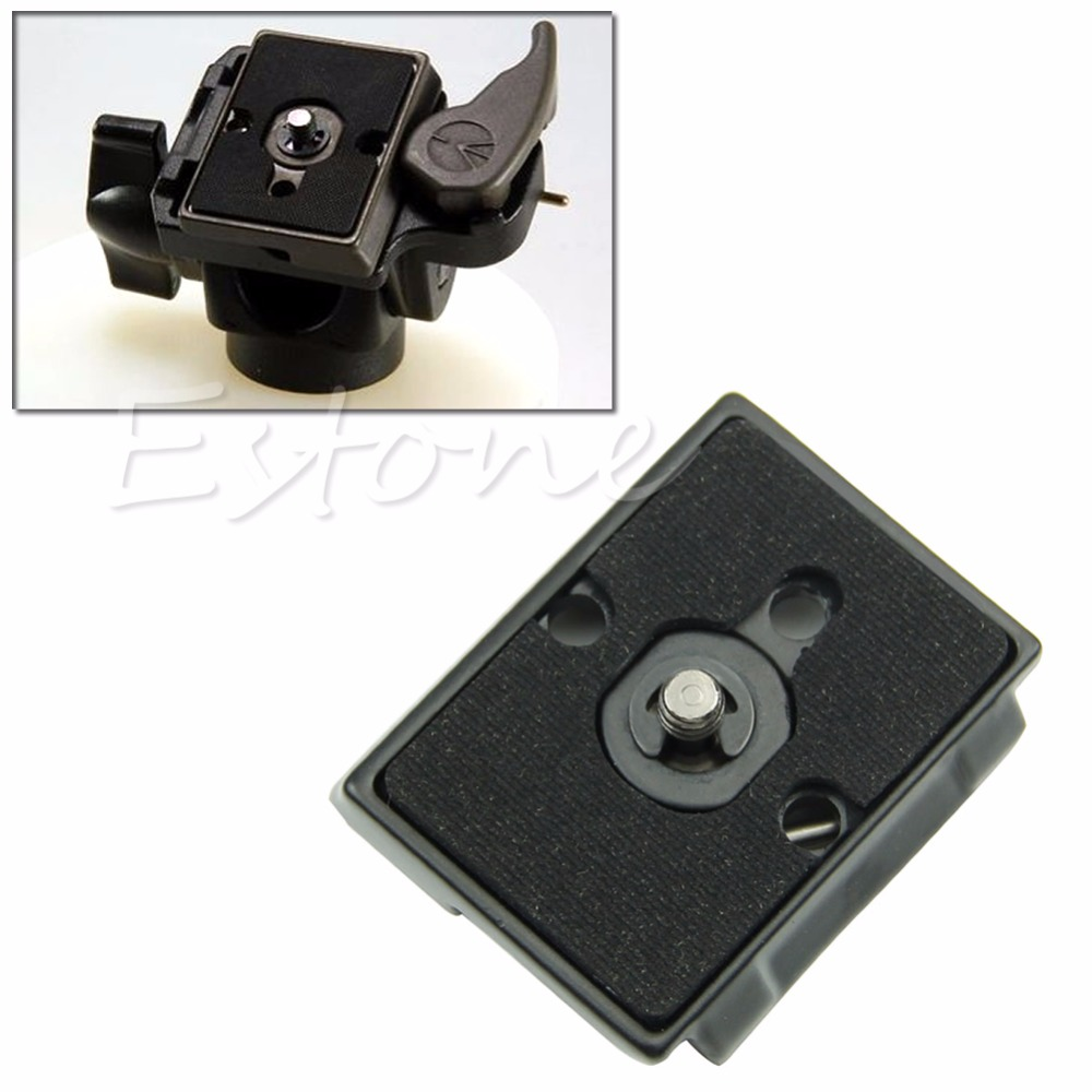 OOTDTY 1/4 Quick Release Plates For Bogen 700RC2 701RC2 Manfrotto 200PL-14