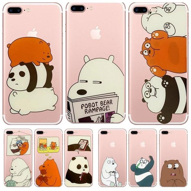 coque panda iphone 7 plus