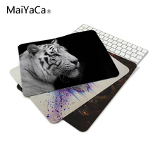 MaiYaCa Wild Animals Jumping Tiger Gaming Mouse Mats Anti-Slip Rectangle Gaming Mice Mat for PC Computer Mouse Pad