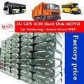 Завод ahd 4ch жесткий диск новый mdvr 3g gps 4ch 720P D1 CMSV6 для автомобиля/Авто/школьный автобус/такси/Грузовик Мобильный dvr