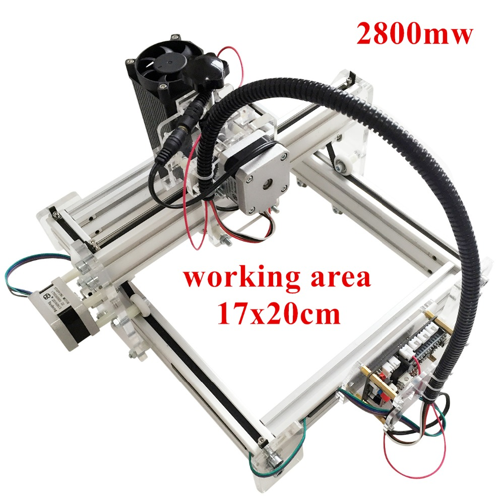 3000mw Laser engraving toy grade engrave on metal DIY desktop micro laser engraving machine engraving machine 170*200mm marking футболка toy machine leopard brown
