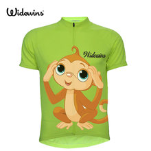 New Monkey Pro Team Cycling Jerseys 2017 Short Sleeve Summer Breathable Cycling Clothing MTB Bike Monkey Jerseys 5102(China)