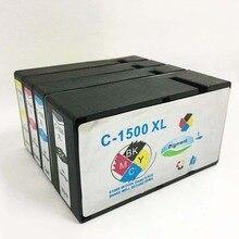 einkshop PGI-1500 Ink Cartridge For Canon PGI1500 PGI1500XL For Canon MAXIFY MB2050 MB2350 MB2150 MB2750 Printer 1set pgi 1500 auto reset chip for canon pgi1500 pgi 1500 permanent chip for canon maxify mb2050 mb2350 for europe