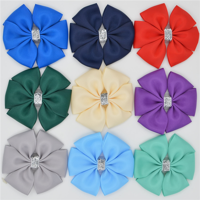 Handmade Ribbon barrettes Clips Boutique girl women Hair Bows With Clip Hairpins For Kids Girl Hair women hair accessories girl hair fascinators wool felt hat flower girl hair bows with clips