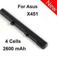 4 Cells 2600mAh Laptop Battery For Asus X451 X551 X451C X451CA X551C X551CA A41N1308 A31N1319 0B110
