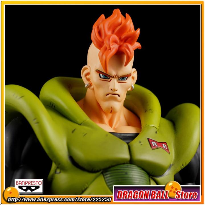 все цены на Japanese Anime DRAGONBALL Dragon Ball Z Original BANPRESTO SCultures Zoukei Tenkaichi Budoukai 1 Toys Figures - Android NO.16 онлайн
