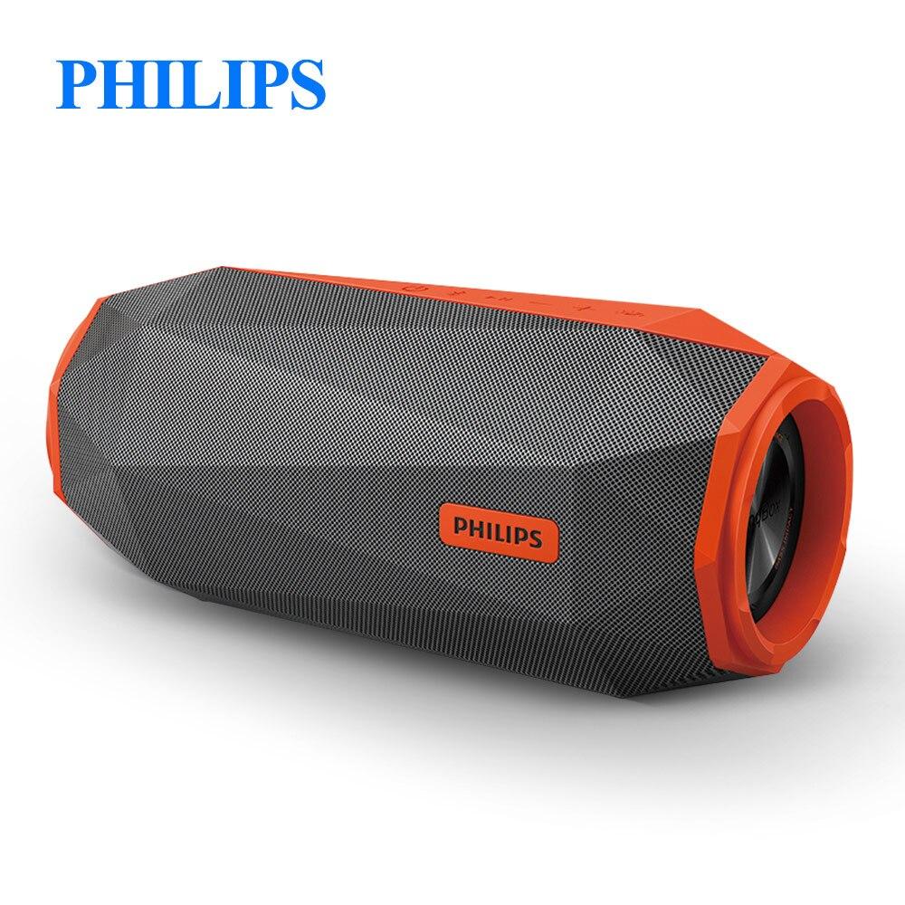 Philips SB500 Original AUX Loudspeaker Bluetooth V4.1 Built in Microphone Wireless IPX7 Waterproof Li Battery Music Speaker