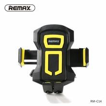 REMAX Universal Car Phone Holder 360 adjustable Air Vent Outlet Mount Sponge Mat Spring Hook Mobile Holder for phone/xiaomi