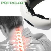 POP RELAX neck massager Wireless electrical Muscle Stimulation Cervical relax therapy instrument neck pain relief massager