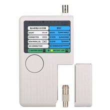 Пульт RJ11 RJ45 USB BNC LAN Сетевой кабель тестер для UTP STP LAN кабели трекер детектор высокое качество инструмент