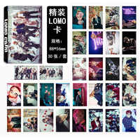 KPOP Bangtan Ragazzi RUN ALI ALI di GIOVANI PER SEMPRE Album LOMO Carte Self Made Carta Fotografica Carta HD Tesserino LK321