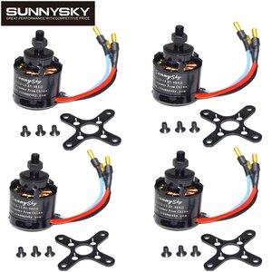 Image 2 - 4pcs Sunnysky X2212 980KV 1250KV 1400KV Outrunner Brushless Motor 2212 for RC Quadcopter Multicopter