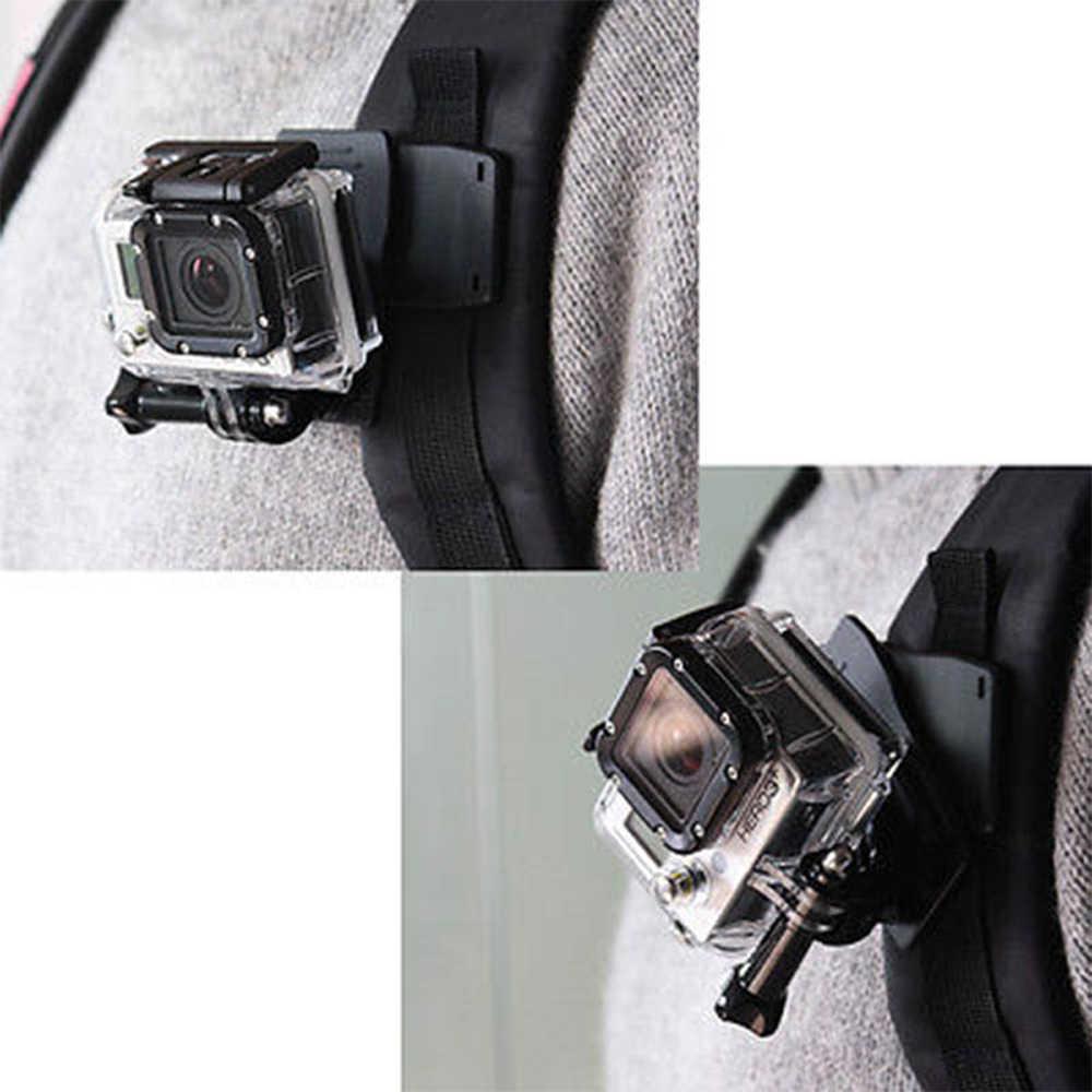 360 градусов вращения быстро прикрепить держатель мешка Зажим для Gopro hero 5 4/3 + 3 2 sjcam SJ4000 SJ5000 GITUP2 Ми YI 4 k действие Камера