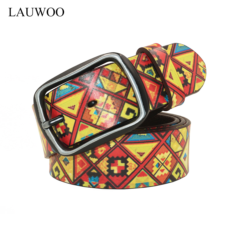 LAUWOO Brand Men belt