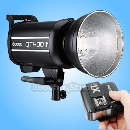 Godox QT-400IIM 400W 2.4G Studio Strobe Flash Light + X1T-C Transmitter 200~240V godox x1t c