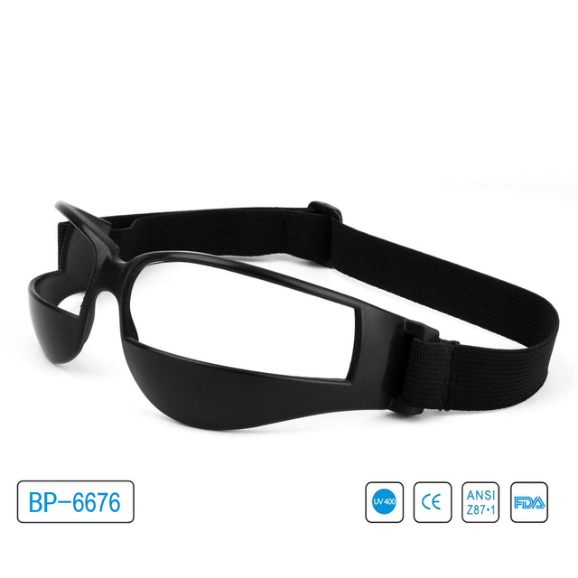 00316e7d7e US $21.0 |Vazrobe Basketball Glasses Men Women with Strap Defensive Head  Sport Goggles Anti Explosion Eye Protective Eyewear-in Eyewear Frames from  ...