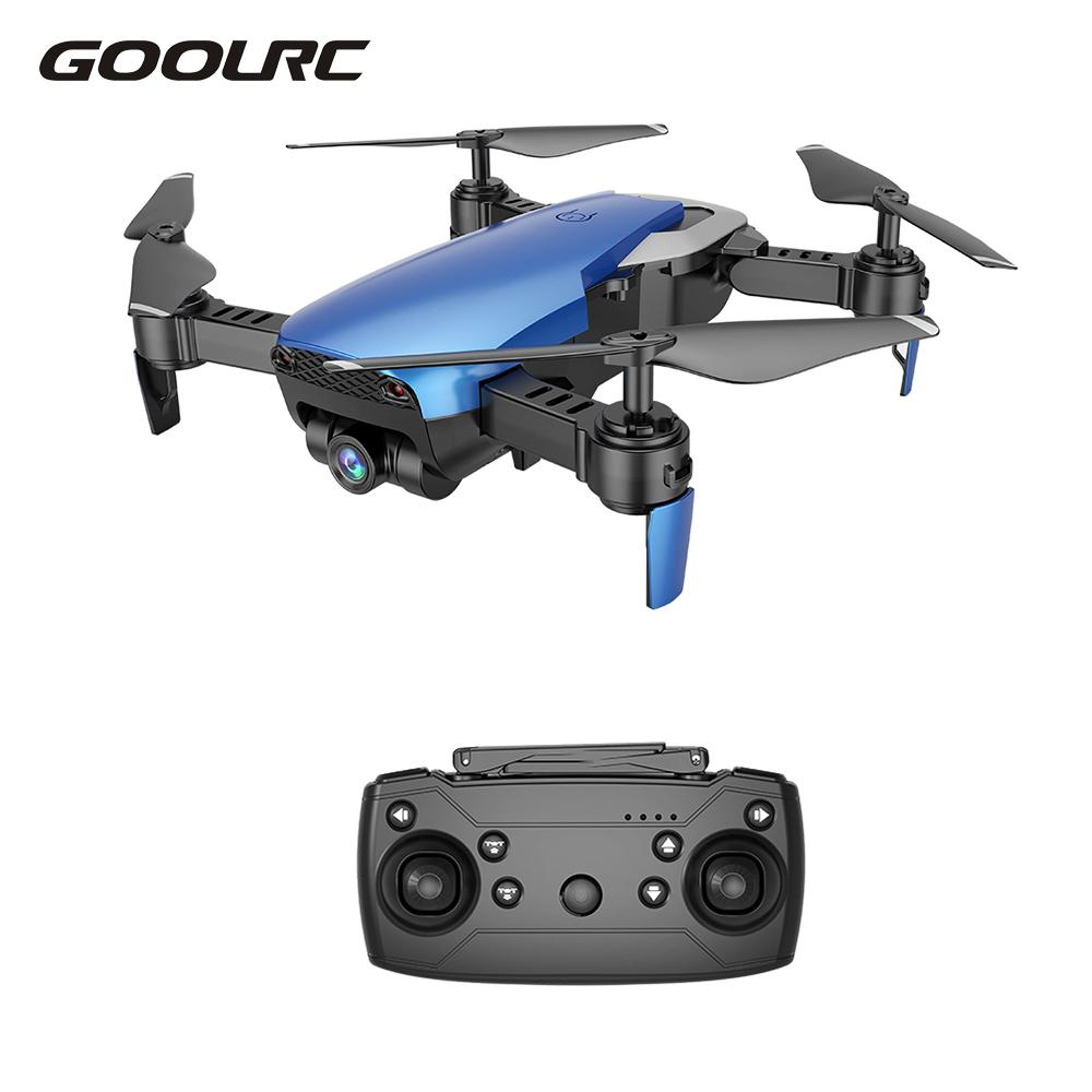 Goolrc X12 0.3MP 2.0MP Wide Angle RC Plane with Camera WiFi FPV Drone RC Helicopter Altitude Hold RC Quadcopter VS E58 XS809HW