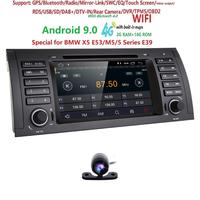 Ossuret 7 Touch Screen Android 9.0 Car Radio Player For BMW E39 E53 X5 With 2G RAM RDS Mirror link WIFI Bluetooth CAM SWC BT SD