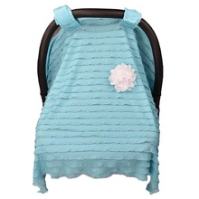 Baby Car Seat Canopy Cover Nursing Cover Scarf for Breastfeeding Baby Car Seat Cover