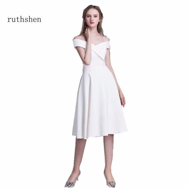 ruthshen Short Off The Shouler Special Occasion Party Prom Dresses ...