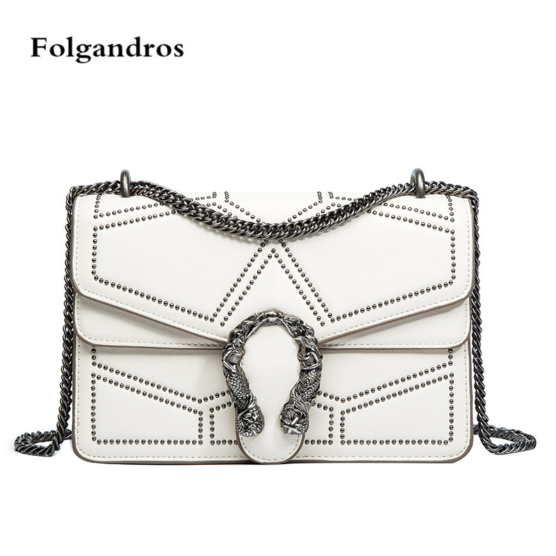 2018 New Hotest Luxurious Chain Shoulder Bag Female Famous Brand Evening Clutch Crossbody Bags Women Messenger Bags Louis gg Bag sgarr new pu leather messenger bag famous brand women shoulder bag envelope women clutch bag small chain crossbody bags female