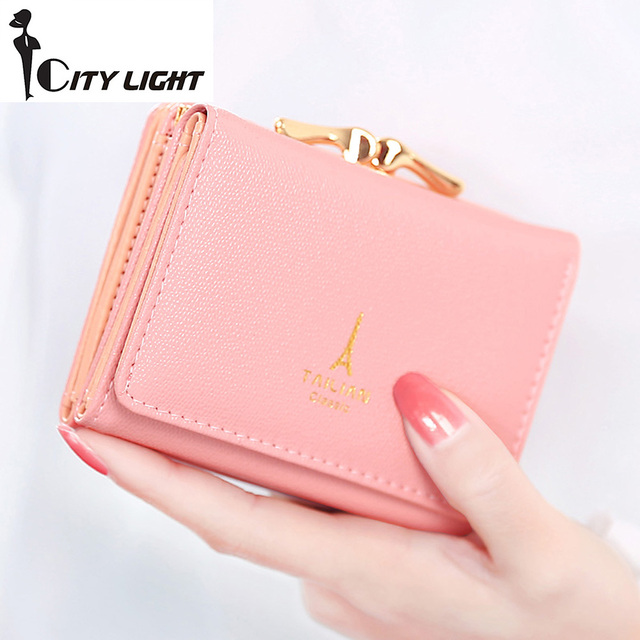 Small Wallets Fashion Women Multi-function