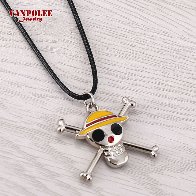 Anime One Piece Skeleton Pendant Necklace