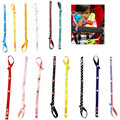 Wholesaler LA VIE Cotton Colorful Strollers Toys Straps Baby Anti-out Rope System Stroller Essential Supplies
