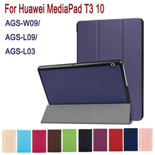 PU Leather Cover case for Huawei MediaPad T3 10 AGS-W09/AGS-L09 t3 9.6