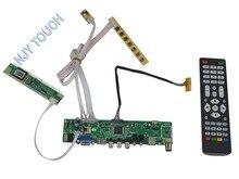 Free Shipping 190*55mm LA.MV56U.A HDMI USB AV VGA ATV Remote LCD LED LVDS Controller Board DIY 1920×1080 Universal