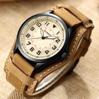 NEW Curren Watches Men Top Brand Fashion Quartz Watch Male Relogio Masculino Men Army Sports Analog