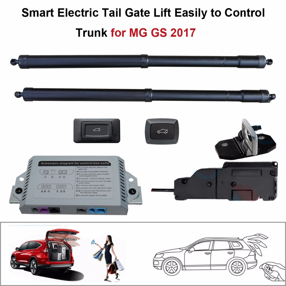 Electric Tail Gate Lift for MG GS 2017 Control by Remote