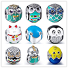 2017 New Arrival Charms Silver 925 Original Animel Fit Authentic Pandora Bracelets Pendant Beads Sterling Silver