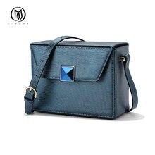 EIMORE Designer Frauen Handtaschen Aus Echtem Leder Umhängetaschen Mode Sommer Stil Frauen Umhängetasche Kleine Mini Flap Bag Frauen