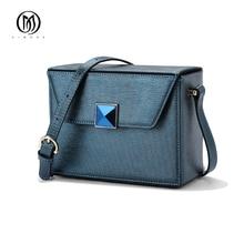 EIMORE Designer Women Handbags Genuine Leather Shoulder Bags Fashion Summer Style Womens Crossbody Bag Small Mini Flap Bag Women