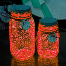 10g Luminous Party DIY Bright Glow in the Dark Paint Star Wishing Bottle Radiationless Pigments Dust Romance Wonderful Gifts все цены