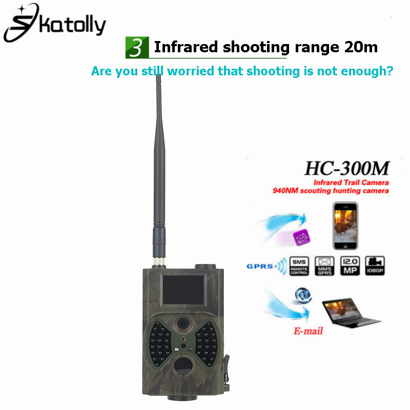HC300M Trail Camera Hunting SMS MMS GSM Camcorder Photo Trap Hunter Cam Outdoor Hunting Trail Camera GPRS Infrared Night Vision 12mp trail camera gsm mms gprs sms scouting infrared wildlife hunting camera hd digital infrared hunting camera