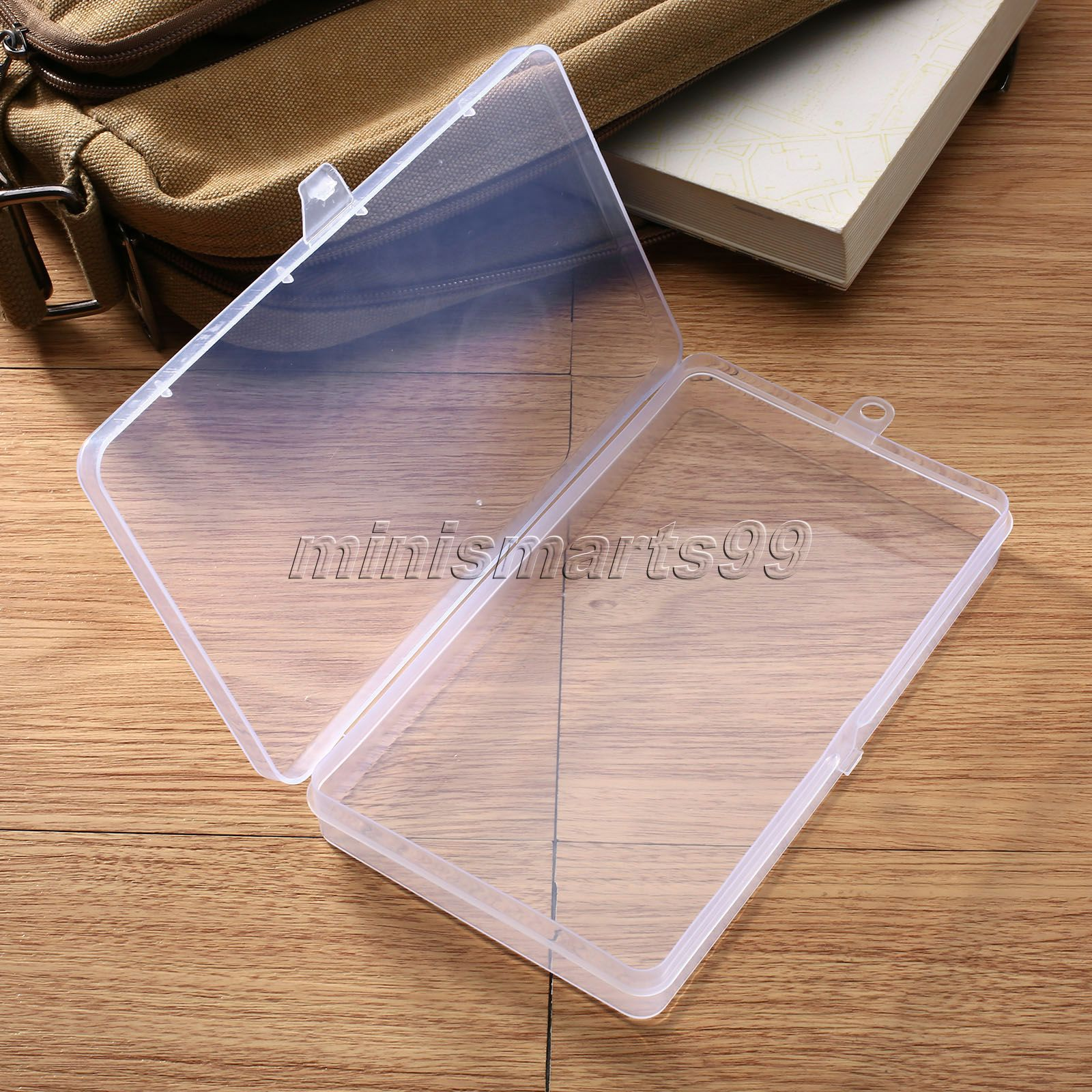 15 Articles To Help Organize Your Home For The New Year: 17.2 X9.8x2.1cm Storage Box Small Clear Plastic Box Bead