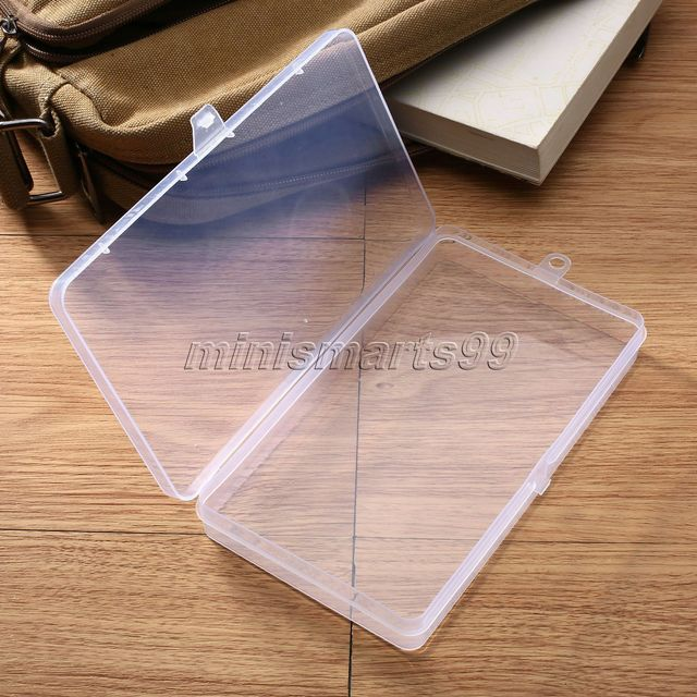 172 x98x21cm Storage Box Small Clear Plastic Box Bead Rings