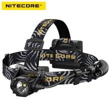 2018 new nitecore ha40 헤드 램프 4 * aa 배터리 1000 루멘 빔 디스ctance 182 미터