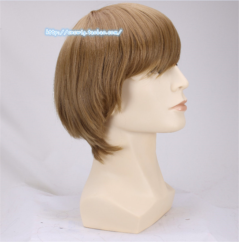 Image 5 - 1pcs Ron Weasley Cosplay Brown Wig Comic Con Cosplay Hair Ronald Bilius Role Play Costumes Wigs + Wig Cap-in Movie & TV costumes from Novelty & Special Use