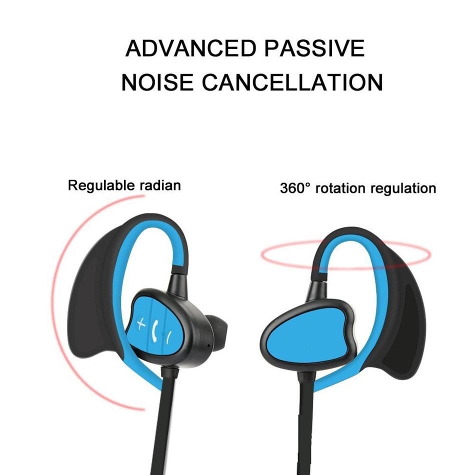 More Sport Bluetooth Waterproof Sweatproof IPX8 Earphones for diving/Swiming/Cycling/Running/Hiking/Skiing/Jogging