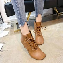 Spring new hollow coarse sandals high-heeled shallow mouth pointed baotou shoes work shoes women Female sexy high heels