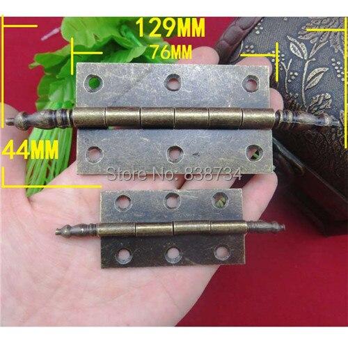 10pcs 129*44MM metal bronze antique cabinet door hinge - Aliexpress.com : Buy 10pcs 129*44MM Metal Bronze Antique Cabinet