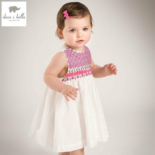 dfc25c59e909 DB5015 dave bella estate della neonata ricamo vestito da cerimonia nuziale  del bambino di compleanno vestiti