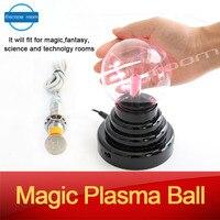 Accesorios de juego para escapar habitación rompecabezas para sala de cámara tocar la bola bola de plasma mágica misteriosa para cierto tiempo para desbloquear